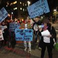 Protesters demonstrate in Tel Aviv Photo: Moti Kimchi