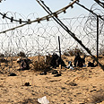 Israel-Egypt border (archives) Photo: Roee Idan