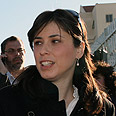 MK Hotovely. Approval from rabbi Photo: Ohad Zwigenberg