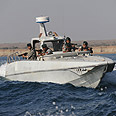 Iran naval exercise Photo: MCT
