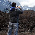 We didn't start the fire. Torres del Paine Photo: AFP