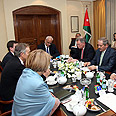 Meeting in Amman Photo: EPA