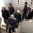 Defendants at court Photo: Gil Yohanan