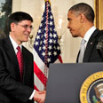 Lew (L) and Obama (archives) Photo: EPA
