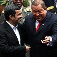 Hugo Chavez with Mahmoud Ahmadinejad Photo: AP