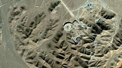Fordo uranium enrichment site (Photo: AFP)