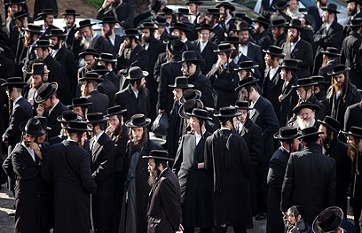 Mayor Huldai fears haredi majority (Photo: Ohad Zoigenberg)
