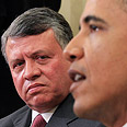 King Abdullah II with US President Obama Photo: Reuters