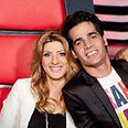 'The Voice' mentors Aviv Geffen (R) and Sarit Hadad Photo: Yoni Hamenachem