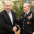 Dempsey with Benjamin Netanyahu Photo: Moshe Milner, GPO