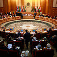 Arab League conference Photo: Reuters