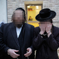 Haredi men suspected of attack Photo: Noam Moskovich