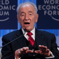 Peres in Davos Photo: Reuters