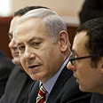 'Great interest' from India and China. PM Netanyahu, Sunday Photo: AFP