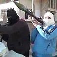 Rebel militants in Homs Photo: AFP
