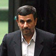 Ahmadinehad. Sending a message? Photo: EPA