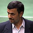 Something to hide? Ahmadinejad Photo: Reuters