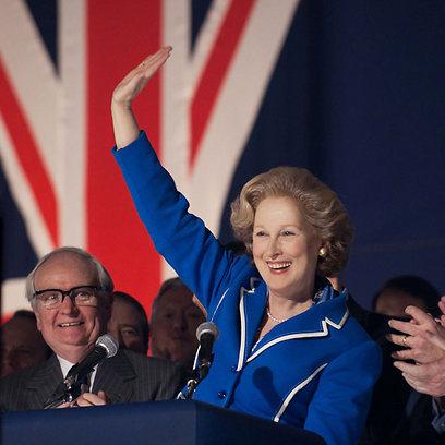 מריל סטריפ כראש הממשלה, מרגרט תאצ'ר (מתוך הסרט)
