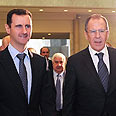 Russian foreign minister receives hero's welcome in Syria Photo: Reuters