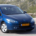 Better Place's Renault Fluence ZE Photo: Ronen Topelberg
