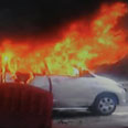 New Delhi car blast Photo: AFP