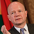 UK Foreign Secretary William Hague Photo: EPA