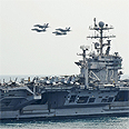 US aircraft carrier Photo: EPA