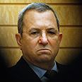 Defense Minister Ehud Barak Photo: AFP