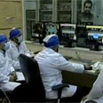 Iranian scientists at nuclear facility