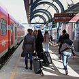 Here comes the train Photo: Ido Erez