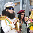 Baron Cohen as 'The Dictator' at Oscars Photo: AFP
