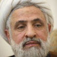 Hezbollah Deputy Sheikh Naim Qassem Photo: Reuters