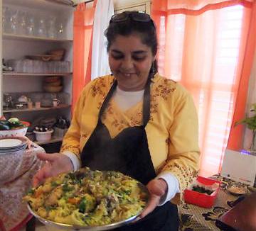 קסם של אוכל ושל סבתא. רינה לוי ותבשיל ערבי