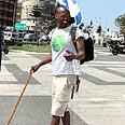 Avraham in Tel Aviv Photo: Ofer Amram