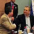 Defense Minister  Ehud Barak Photo: Ariel Hermoni , GPO