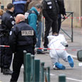 Scene of Toulouse terror attack Photo: AFP