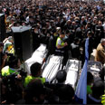 Funeral for Toulouse shooting victims Photo: Reuters