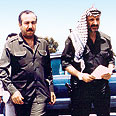 Abu-Jihad (L) and Arafat  (Archives) Photo: AP