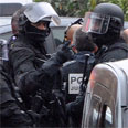 Police in Toulouse Photo: AFP