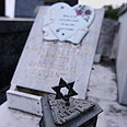 Tombstone in Nice cemetery Photo: AFP