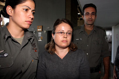 Borisov in court. 'Caring and loving mother (Photo: Ofer Amram)