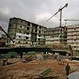 'A mockery.' Construction in Gilo Photo: AP