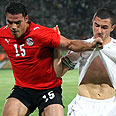 Egypt-Algeria match. Sparked a diplomatic crisis Photo: AFP