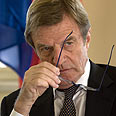 Kouchner: We won't accept nuclear Iran Photo: AFP
