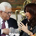 Kirchner, Abbas Photo: Reuters