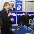 Limor Livnat. Feeling 'uneasy' Photo: Herzel Yosef