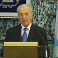 Peres. 'Dreadful attempt' Photo: Gil Yohanan