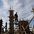 Construction in Beit Arye Photo: AP