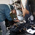 Torched mosque Photo: AFP