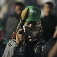 Hamas gunman in Gaza Photo: AP